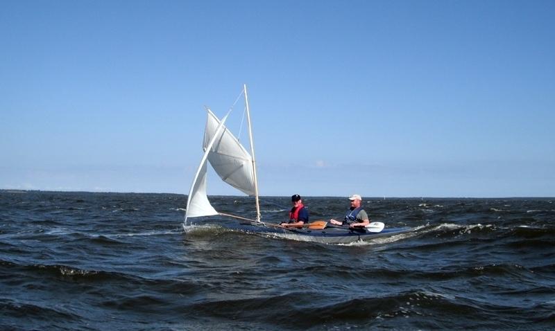 Roy und Matze immer hart am Wind